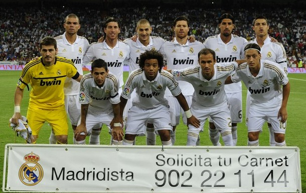 Skr0f3t meczu real madryt 8-0 millonarios trofeo santiago bernab0e9u 2012